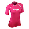 Women's Poly-Pro Lycra Short Sleeve