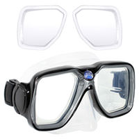 Custom Scuba Dive Snorkeling Prescription Mask : Maui