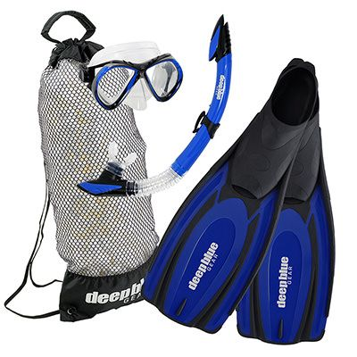 Fall Special - Adult Snorkeling Set by Deep Blue Gear