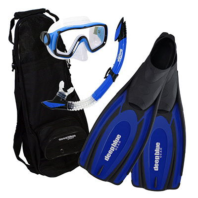 Holiday Special - Adult Snorkeling Set by Deep Blue Gear