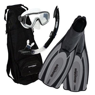 Winter Special - Adult Snorkeling Set by Deep Blue Gear