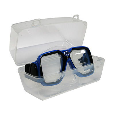 Clamshell Protective Mask Box by Deep Blue Gear