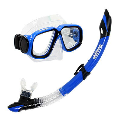 Maui Jr - Kids Mask and Snorkel Set by Deep Blue Gear