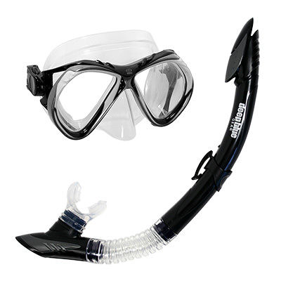 Del Sol 2 - Adult Mask and Snorkel Set