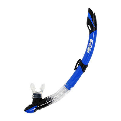 Maui 2 Jr. - Semi-Dry Kids Snorkel by Deep Blue Gear