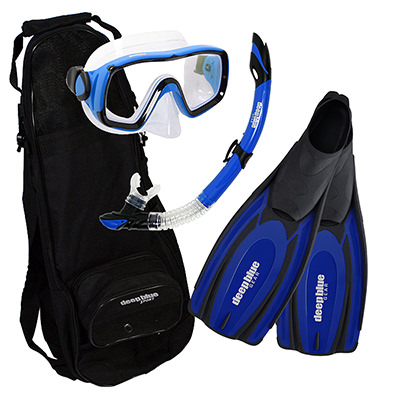 Spring Special - Adult Snorkeling Set by Deep Blue Gear