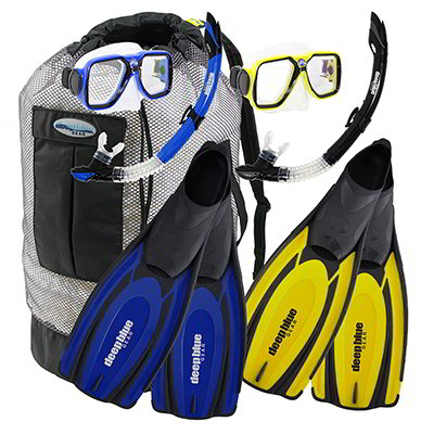 Buddy Combo - Adult Snorkeling Set by Deep Blue Gear