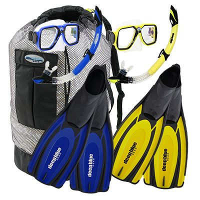Buddy - Adult Snorkeling Set by Deep Blue Gear