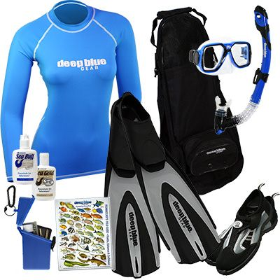 Kitchen Sink - Adult Snorkeling Set by Deep Blue Gear