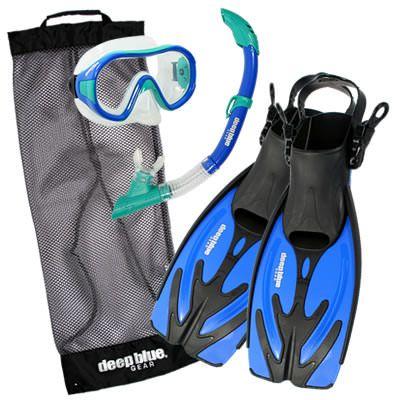 Playa Jr. - Kid's Snorkeling Set by Deep Blue Gear
