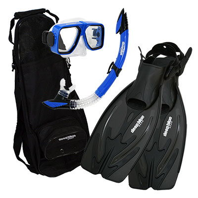 Summer Special - Adult Snorkeling Set by Deep Blue Gear