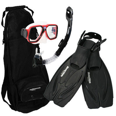 Valentine Special - Adult Snorkeling Set by Deep Blue Gear